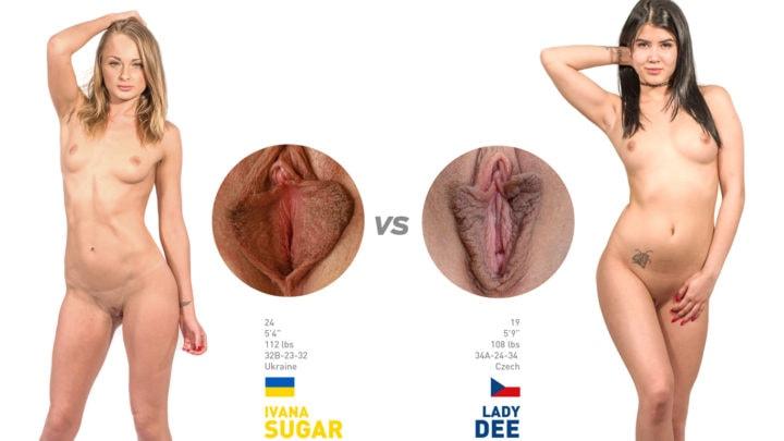 Tribbing sexfight