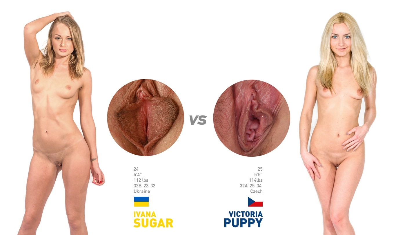 Ivana Sugar Vs Victorya Puppy